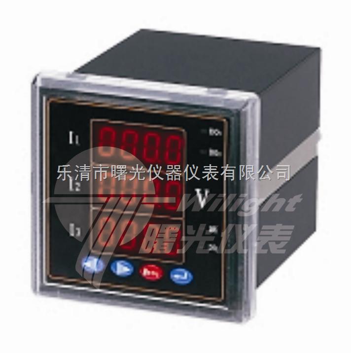 智能数显仪表pd204u-9d4-b3/三相电压表
