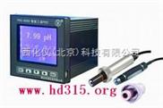 在线式工业PH计(同时显示温度,带历史记录功能) 型号:YTDR-PHS-8B2000+PHG-992113