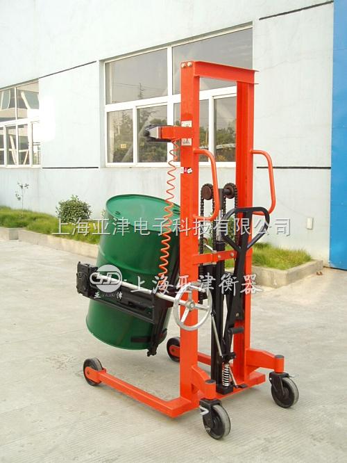 500kg防爆油桶秤,500kg油桶堆高车秤N