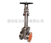 手动不锈钢波纹管截止阀,WZ41W高温导热油截止阀