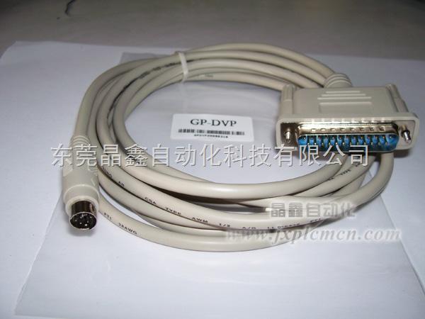 gp3000触摸屏与三菱fx3u/fx2n连接电缆
